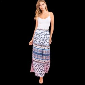 BOUTIQUE BOHO ISLAND MAXI SKIRT💗